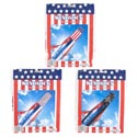 Windsock Patriotic 48in/3ast Designs Pat Pb/insertcard