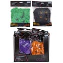 Spider Webbing 1.75oz 4 Asst Colors W/4spiders In 36pc Pdq Blk/orange/purp/green Prtd Pb