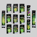 Glow Stick Shipper Halloween 13ast Styles In 107pc Floor Disp Printed Paper Box
