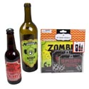 Bottle Stickers Halloween 8ct 2ast-3sizes-4dsgns/12pc Merchstp 4c Printed Stickers On Pbh