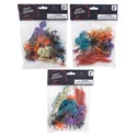 Creepy Creatures 18/24/36pc Multicolor Party Favor On 12pc Display Strip/halloween Pbh