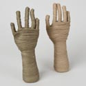 Mummy Hand Table Decor 12in H 2 Asst Colors Hall Ht