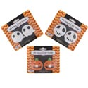 Tealight Led 2pk Halloween Pumpkin/ghost/skull-12pc Mdsgstp Pb Slv