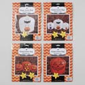 Leaf Bag Pumpkin Or Ghost Design 1pc 45x48/3pk(1pc36x48-2pc24x30) Halloween Pb/insert