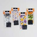 Loot Bags Cello Halloween 20ct Rect 4asst Designs 9.5x4x2 Halloween Pbh