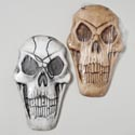 Skull Foam Scary Decor 9x15in 3ast White/red/bone Colors Hal Label