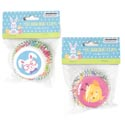 Baking Cups Easter Prints 2in 50ct 2ast/12pc Merchstrip Pbh