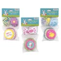 Baking Cup Kit Easter 3ast 48pk 2in Plst Pics/mdsg Strip