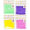 Basket Wrap Mesh 50x47in 4ast Colors/12pc Mdsgstrip Easter/pbh