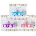Tealight Led 2pk Prntd Easter/ Spring 3asst On 12pc Mdsg Strip Pink/blue/purple Spring Blc