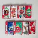 Cards Christmas Boxed 15ct W/envelopes 8asst 4x6 Shrink-wrapped Window Box