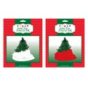 Christmas Tree Removal Bag Giant 96x47in Red Or White Christmas Pb Insert Card
