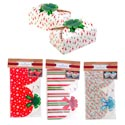 Cookie Box 2pk W/built In Bow Paper 4prints 7x4.25x2.75in Christmas Pbh