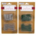 Ornament Hooks 150ct Green Or Silver 12pc Mdsgstrip Christmas Blister Card