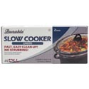Slow Cooker Liners 2pk In Color Box 60pc Flr Display Made In Usa 21x13