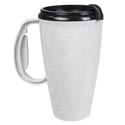 Travel Mug W/lid 16oz Granite Plastic # Jny-1-429