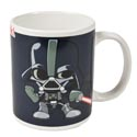 Coffee Mug 11 Oz Darth Vader Star Wars Ceramic Grey *4.99*
