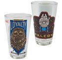 Drinkware Cooler Glass 10 Oz Millennium Falcon *3.99* 2asst Star Wars Ep7